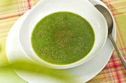 Oosterse groene soep
